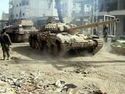 Lữ đoàn 137 pháo binh đánh chiếm lại đồi Tal Tayyim, Deir Ezzor