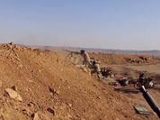 IS tấn công máy bay trực thăng Mi-28 trên bầu trời Palmyra