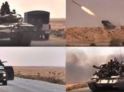 Video: Quân đội Syria dồn dập tấn công về hướng Raqqa