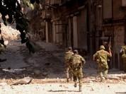 Lính thủy đánh bộ và lữ đoàn 103 Vệ binh Cộng hòa khởi chiến Kabani, Latakia