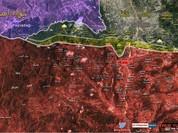 Quân đội Syria tiếp tục chiến dịch đóng cửa biên giới Latakia