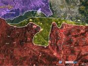 Quân đội Syria chiếm nhiều cao điểm dọc biên giới Thổ Nhĩ Kỳ