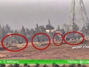 Video: Chiến binh cực đoan tháo chạy trước hỏa lực pháo binh