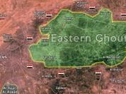 Chiến sự vẫn đang tiếp diễn dữ dội tại Đông Ghouta