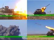 Giao chiến ác liệt giữa quân đội Syrria và lực lượng Hồi giáo cực đoan trên trang trại Mallah (Video)