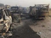 Video: Phi đội trực thăng Mi-35 quân đội Iraq tiêu diệt hàng trăm xe của IS