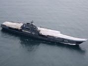 """Tàu sân bay """"Đô đốc Kuznetsov"""" Nga có thể sẽ tham chiến ở Syria"""