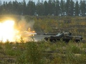 Video quay chậm: Cận cảnh pháo chống tăng tự hành 2S25 Sprut-SD nhả đạn