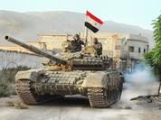 Quân đội Syria, dân quân Palestine tấn công Trại tị nạn Handarat (video)