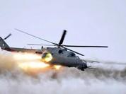 IS tuyên bố bắn hạ một máy bay Mi-24 không quân Syria