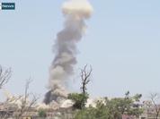 Video: Không quân Syria đập tan chiến dịch tấn công của FSA trên miền Nam Syria