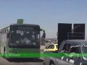 Sau hòa giải dân tộc, chiến binh thánh chiến rút về phía Bắc tỉnh Homs(Video)