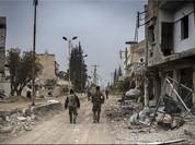 Quân đội Syria tấn công truy quét khủng bố ở al-Lairamoun phía bắc Aleppo (Video)