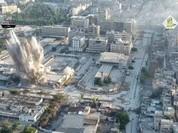 Lực lượng Hồi giáo cực đoan đánh bom đường hầm thành phố Aleppo