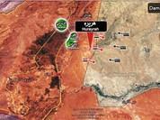 Quân đội Syria đánh chiếm thị trấn Hurayrah, đóng cửa biên giới Syria - Lebanon