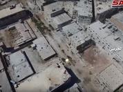 Quân đội Syria tấn công giải phóng khu vực quận Bani Zaid (video)