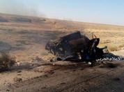 Lực lượng NDF bắn tan xác một chiếc xe đánh bom khủng bố