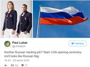 Đội tuyển Olympic Mỹ sẽ thi đấu dưới sắc áo – mầu cờ Nga