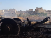Không quân Nga phá hủy hoàn toàn căn cứ của FSA (Video)