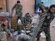 Quân đội Syria tiếp tục vây lấn tấn công trong thành phố vệ tinh Darayya