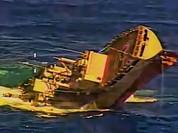 Tàu ngầm Canada đánh chìm tàu Mỹ bằng một ngư lôi Mk - 48 (video)