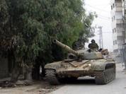 Lữ đoàn 105 Vệ binh Cộng hòa tấn công đồi Tal Kurdi thuộc vùng Đông Ghouta