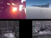 Video: Không quân chiến lược tầm xa Nga không kích IS ở Deir El Zzor