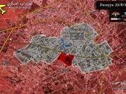 Quân đội Syria chia cắt lực lượng Hồi giáo cực đoan ở Darayya