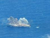 Chiến hạm Mỹ tham chiến ở Việt Nam bị đánh chìm