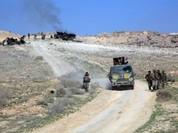 Lữ đoàn 102 Vệ binh Công hòa giao chiến ác liệt trong trường Vũ khí trang bị Aleppo