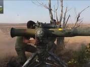 Video: Khủng hoảng trên chiến trường Hama, 1 máy bay trực thăng Syria bị bắn hạ
