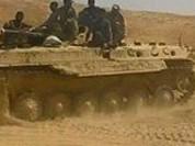 Quân đội Syria phản công trên sa mạc Đông Bắc tỉnh Homs