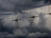 Không quân Nga ném bom dữ dội phiến quân Hồi giáo phản kích