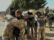Một số lớn chiến binh Hồi giáo đầu hàng chính phủ Syria ở Tây Ghouta