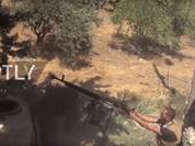 Quân Syria buộc phải đáp trả hỏa lực các hành đông phá hoại của khủng bố - VIDEO