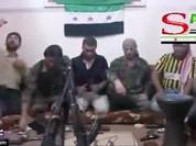 Phiến quân Syria tự giết mình và đồng đội bằng selfie - VIDEO