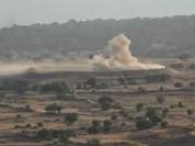 Không quân Israel lại tiến hành không kích quân đội Syria ở Golan
