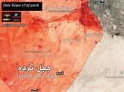 Quân đội Syria đang cố gắng phòng thủ tại ngọn núi Thardah