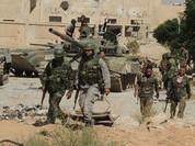 Quân đội Syria phát động tấn công vào tuyến phòng thủ phiến quân ở Hama (Video)