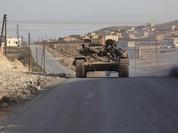 Quân Syria thông đường tỉnh Homs sau 1 giờ bị nhóm Hồi giáo cực đoan cắt đứt