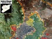 Video: Chiến trường Aleppo những ngày bão lửa cuối tháng 9