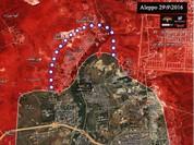 Quân đội Syria huyết chiến với phiến quân ở Aleppo