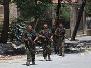 Chùm video chiến sự Syria: Tên lửa chống tăng thiêu rụi xe khủng bố