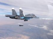 Không quân Nga dội lửa vào lực lượng Hồi giáo cực đoan vùng nông thôn tỉnh Hama