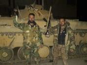 Quân đội Syria ồ ạt đánh chiếm thị trấn, bắt sống 300 phiến quân
