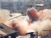 Quân đội Syria phá hủy đường hầm, chôn sống hàng loạt tay súng khủng bố