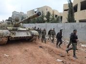 Quân đội Syria chiếm hàng loạt làng mạc tự tay phiến quân