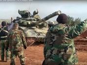 Quân đội Syria tiếp tục tấn công hướng đông bắc Aleppo