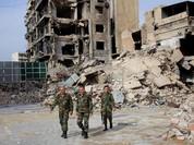 Video chiến sự Aleppo: Binh sĩ Syria truy quét phiến quân dưới hầm ngầm