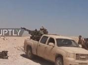 Video: Quân đội Syria tấn công quy mô lớn đánh IS